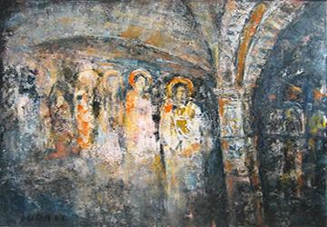 Byzantinische-Fresken